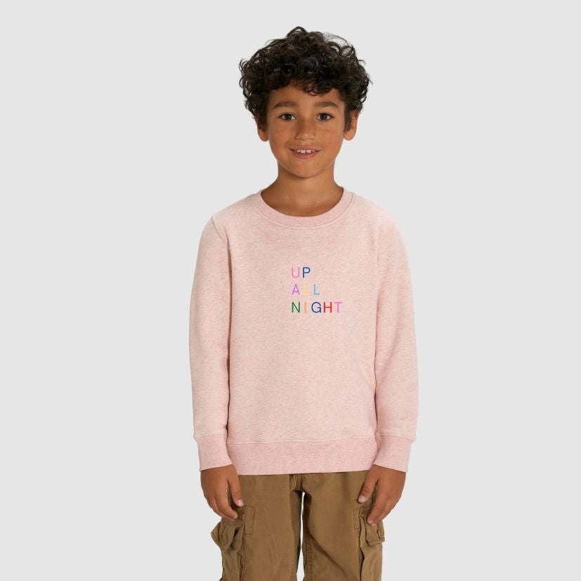 rakao-sweatshirt-kids-creampink-upallnight-boy