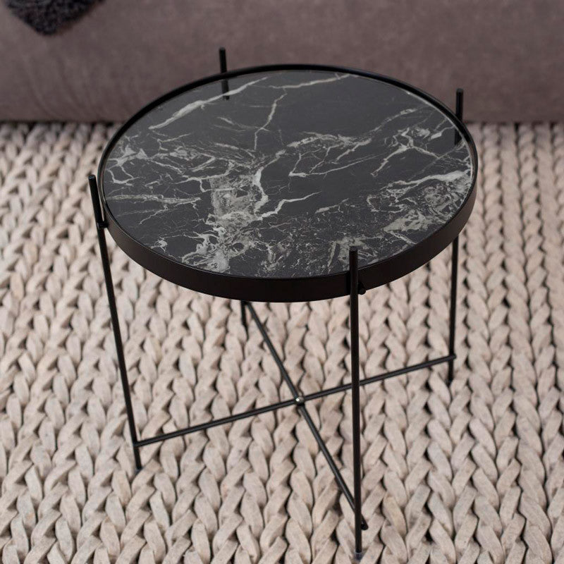 side road marble kara round table products totem
