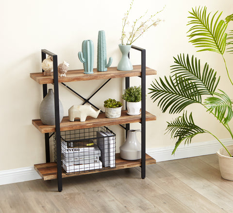 3-tier storage shelf  French oak-ver1-El