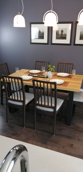 Roman Extendible Dining Table Pedestal Table