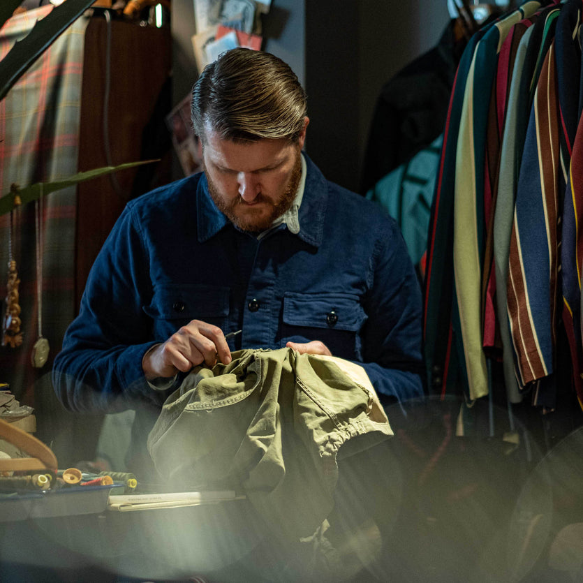 My Uniform: Vintage Dealer Sean Crowley