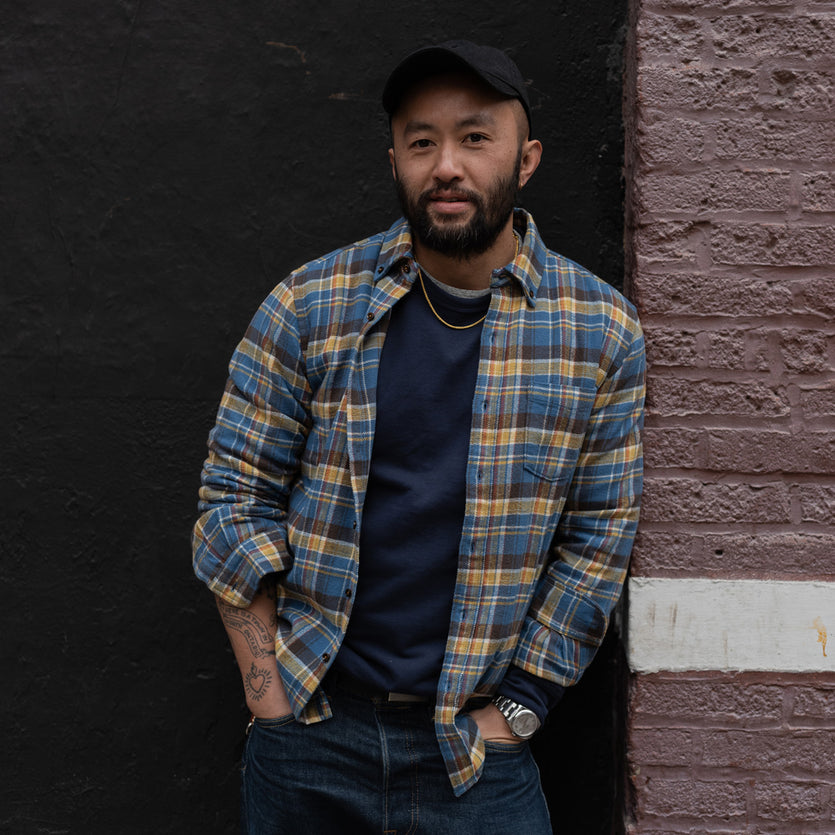 My Uniform: Somsack Sikhounmuong <br> Co-founder and design director, Alex Mill