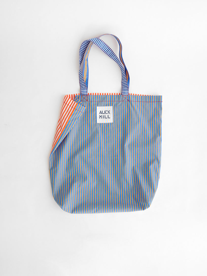 Mixed Stripe Tote