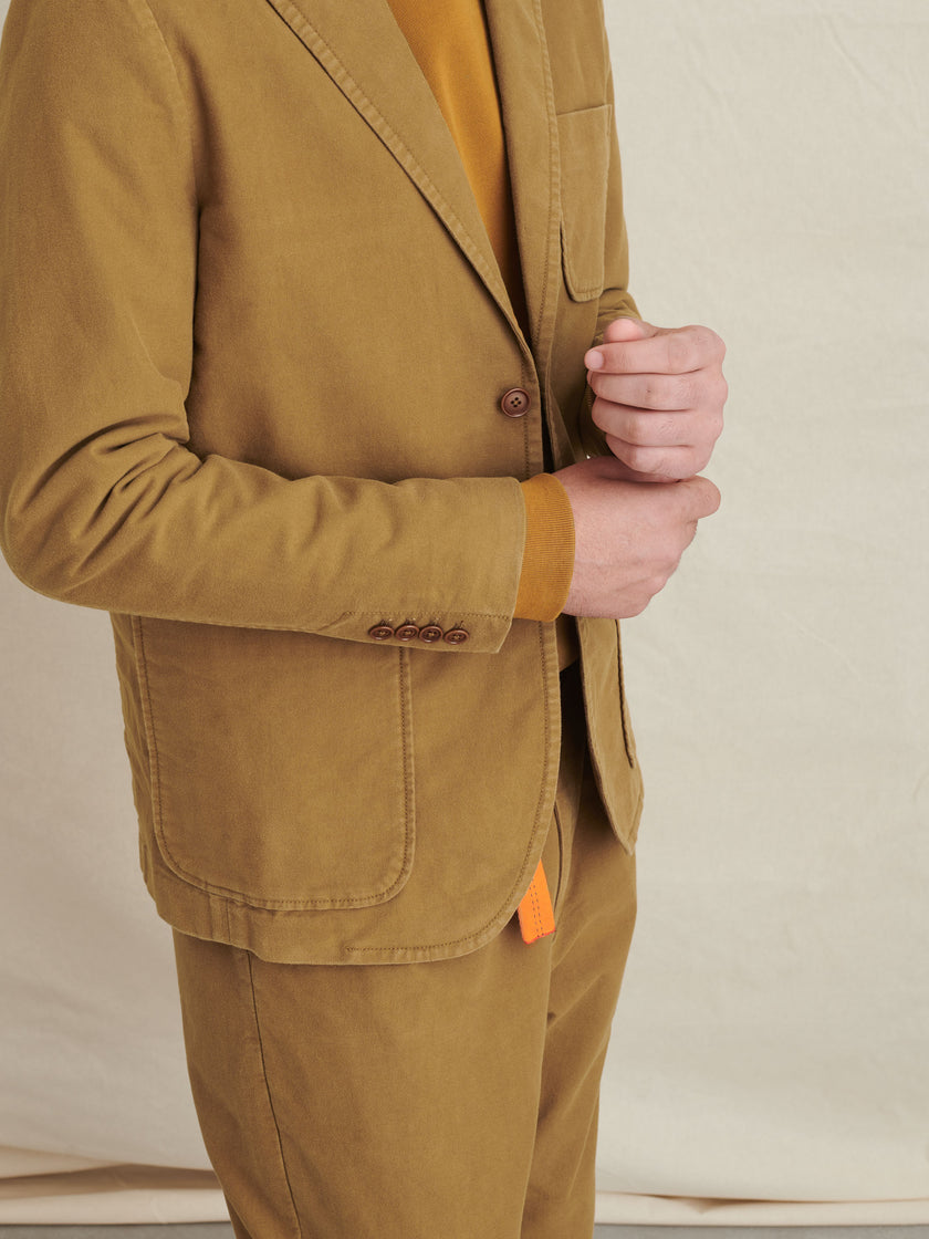 Mercer Blazer in Brushed Cotton
