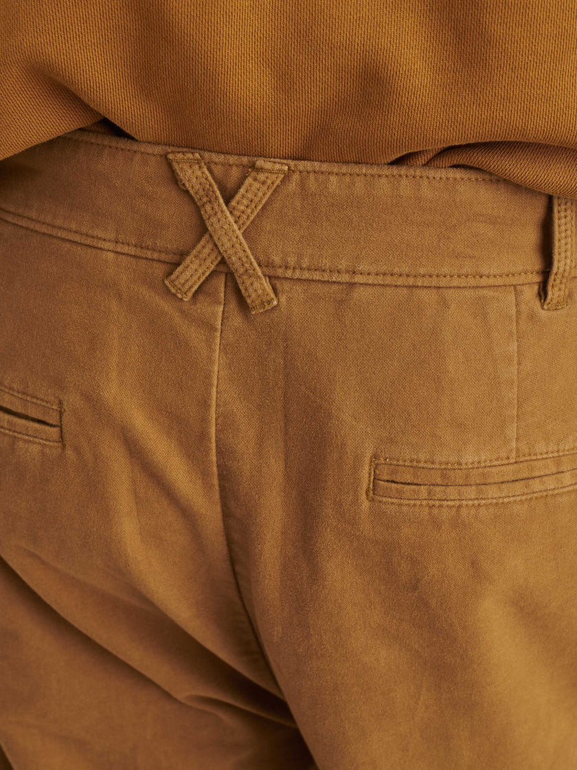 Standard Pleated Pant in Brushed Cotton