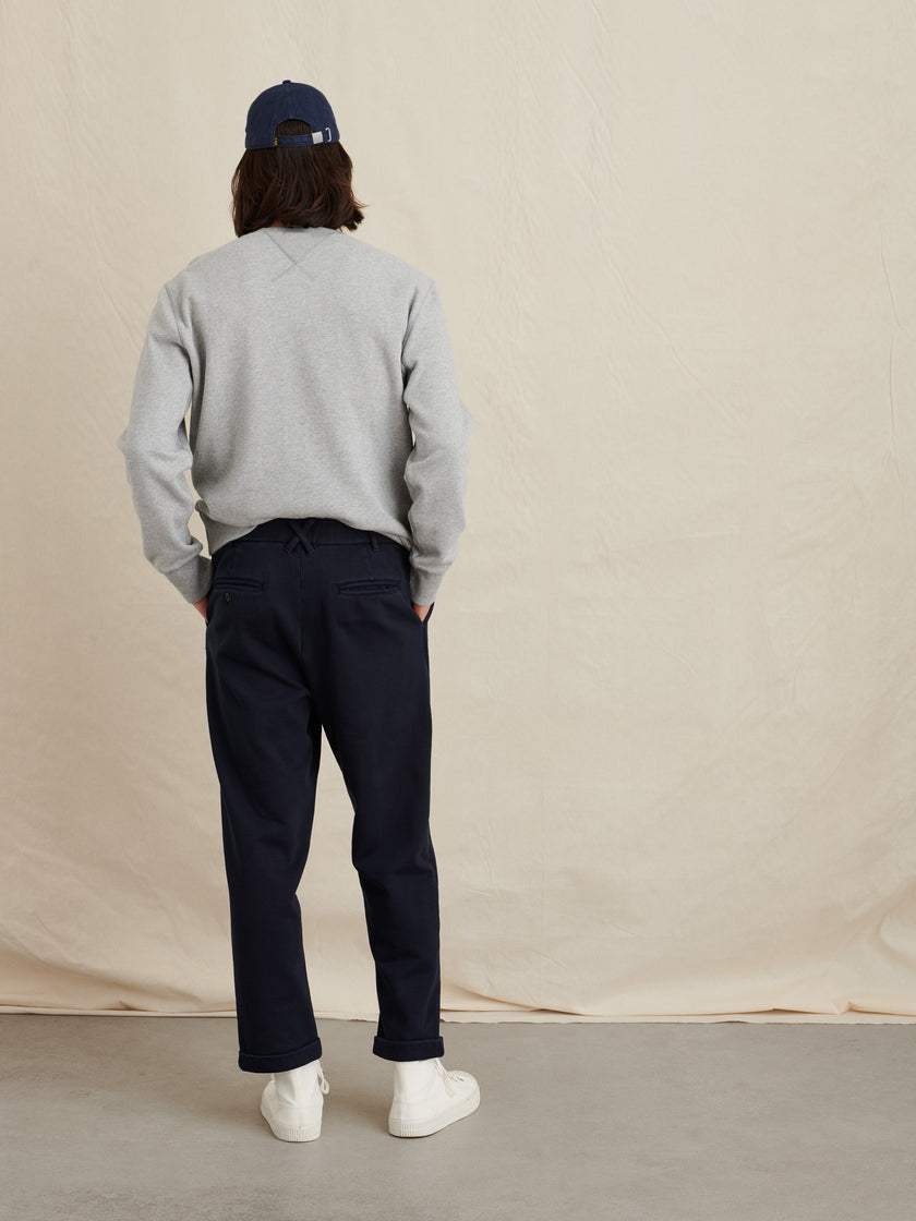 Standard Pleated Pant in Fleece