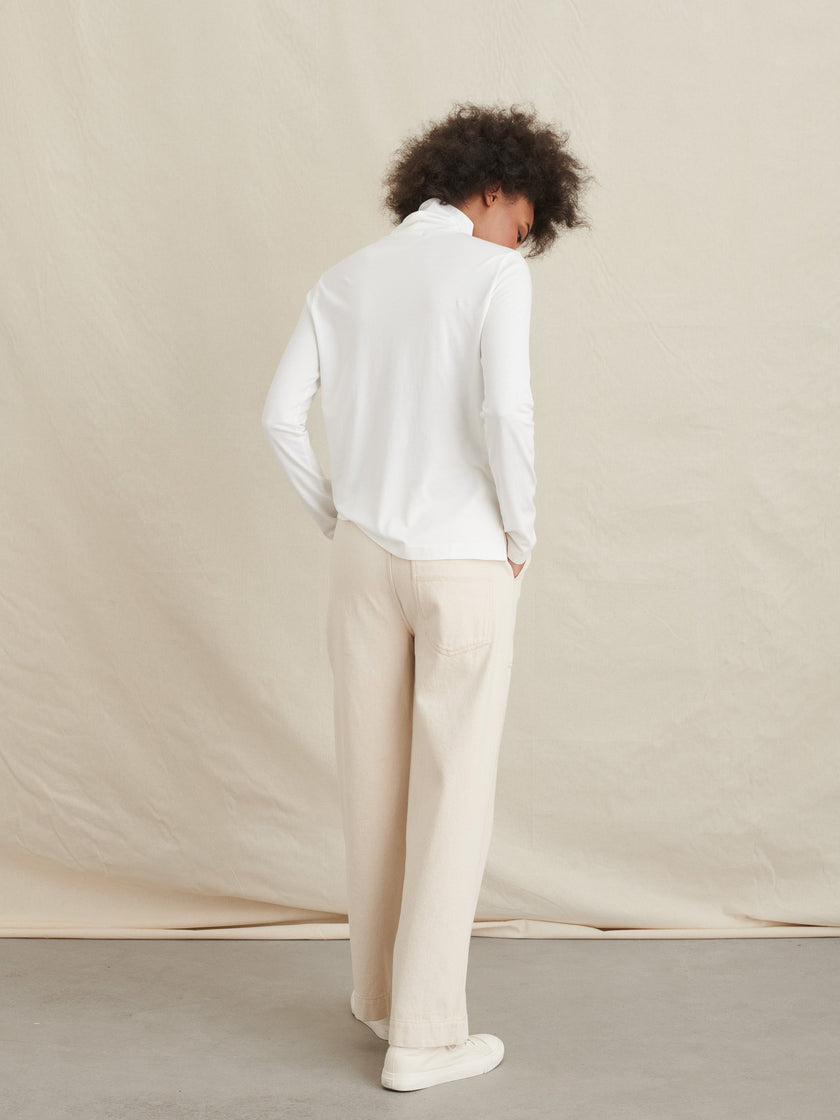 Turtleneck in Cotton Modal