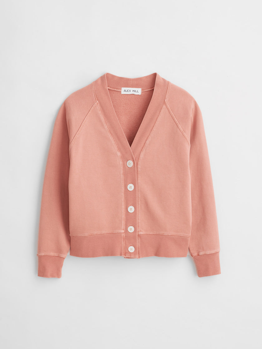Davie Fleece Cardigan