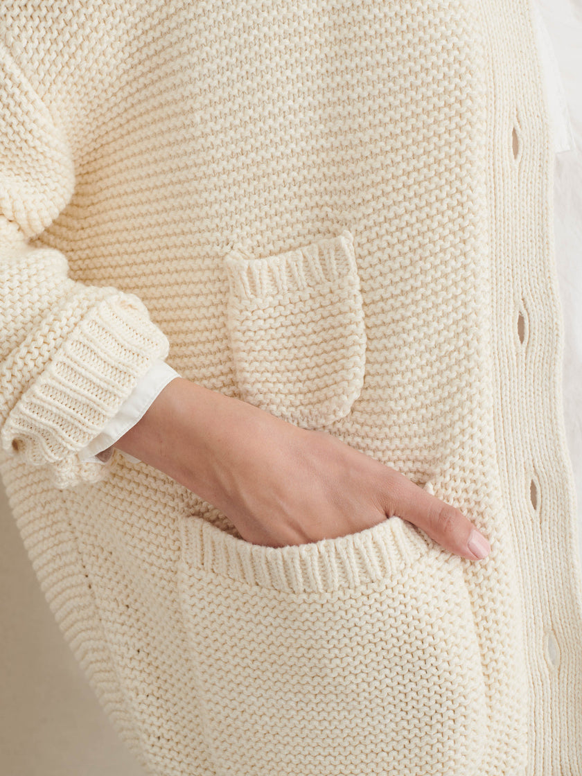 Cup of Jo Reading Sweater