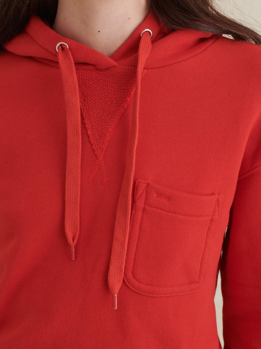 Pocket Hoodie in French Terry