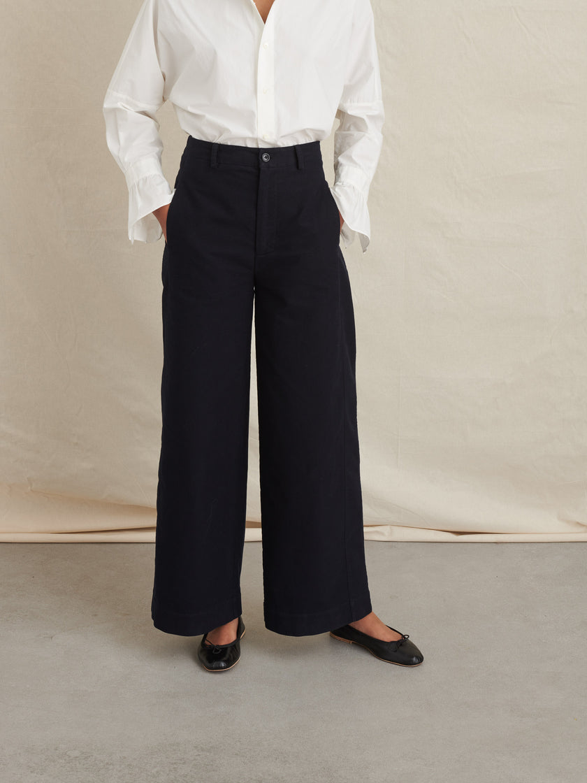 Ryder Pant in Brushed Cotton