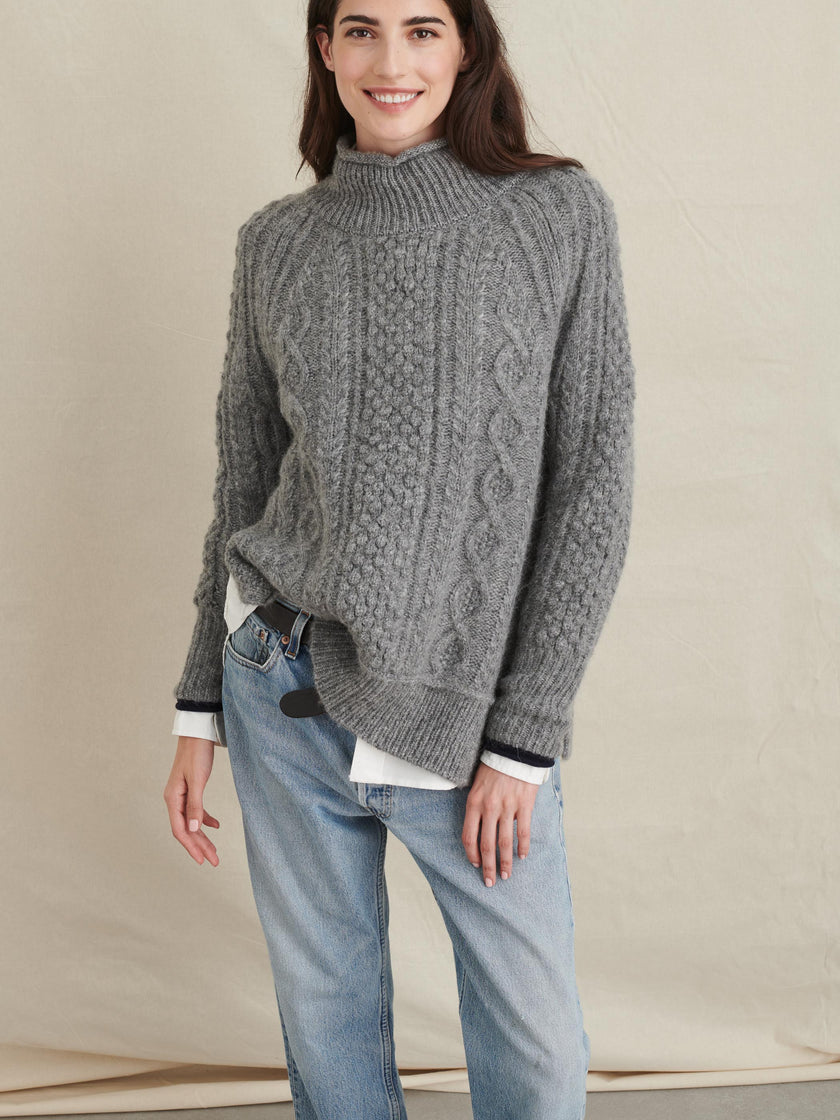 Camil Cable Sweater