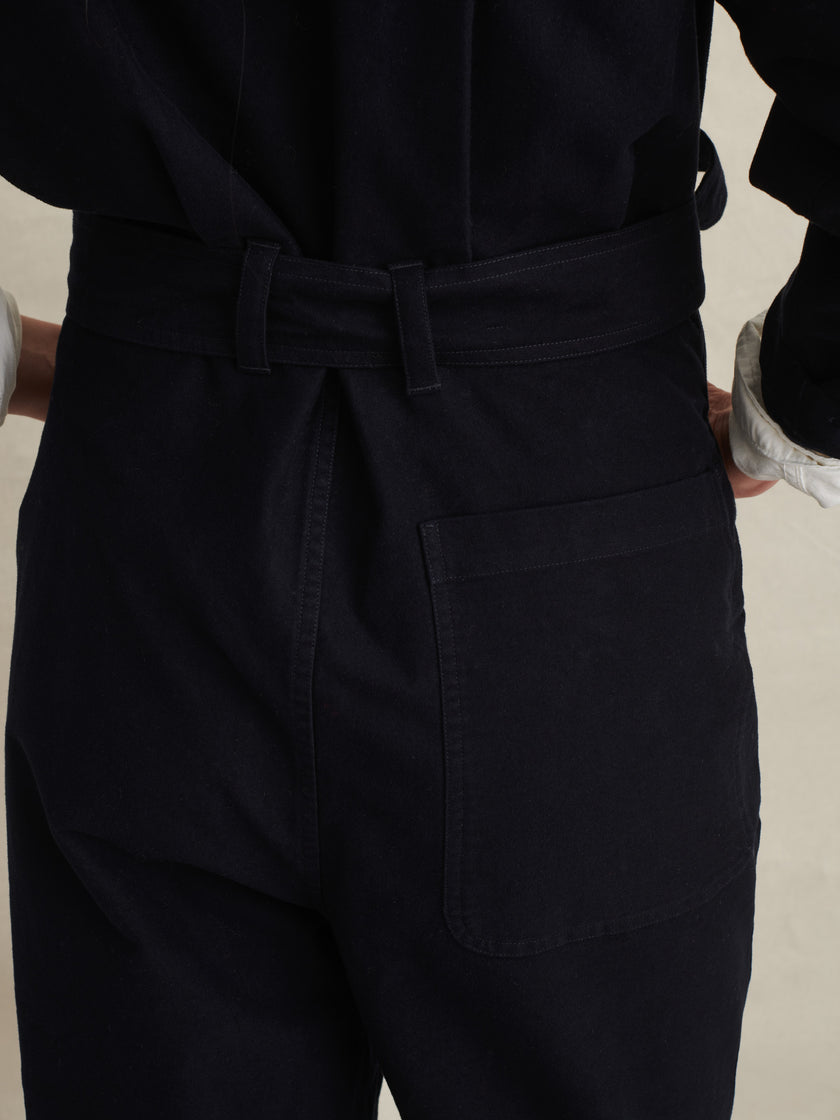 Noma Jumpsuit in Brushed Cotton