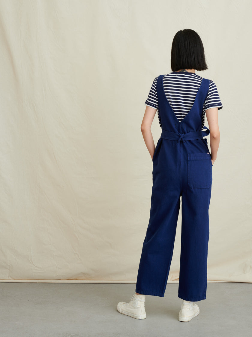 Ollie Overall in Upcycled Denim