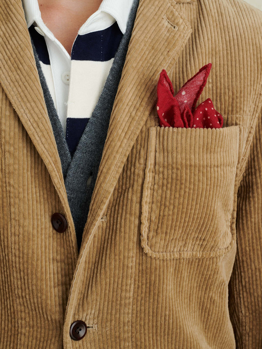 Mill Blazer in Rugged Corduroy