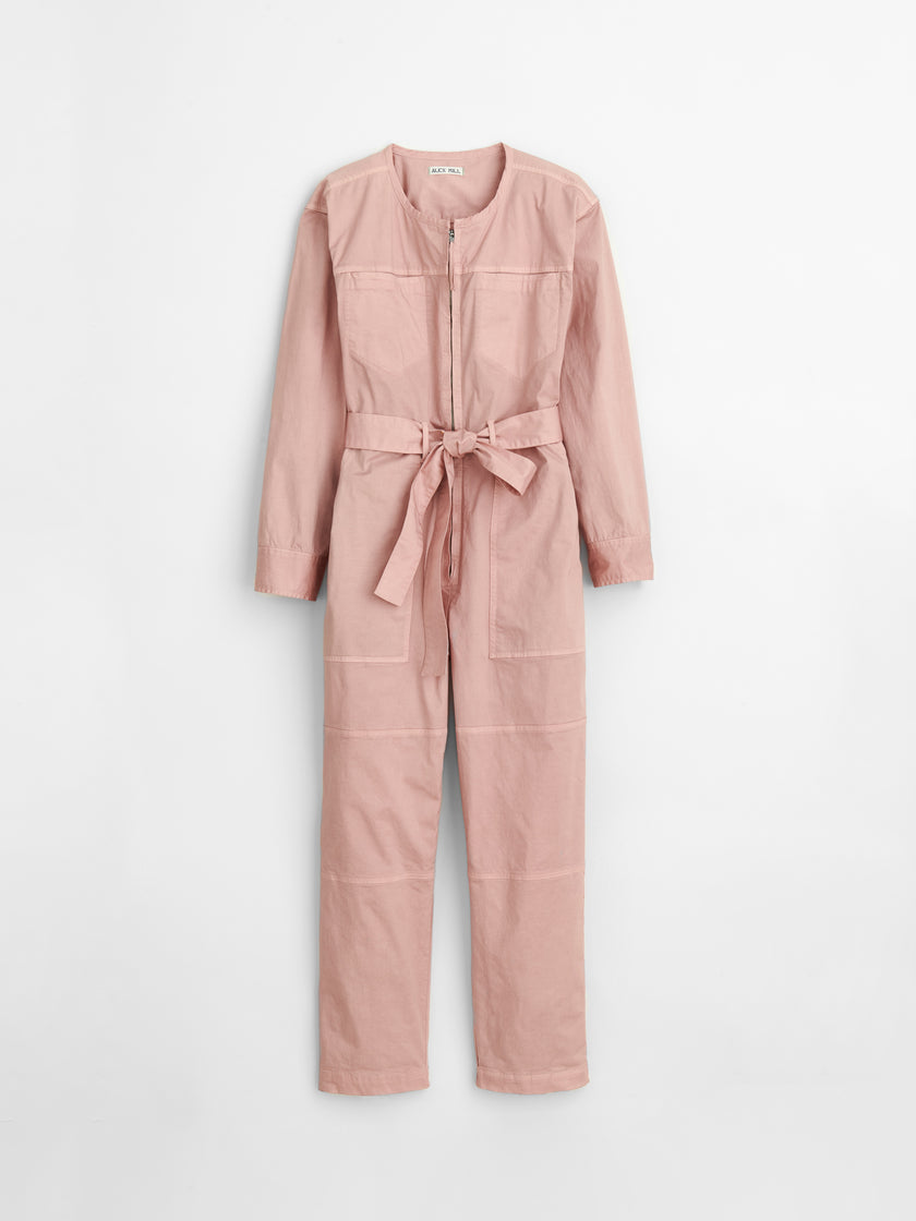 Jak Jumpsuit in Cotton Twill