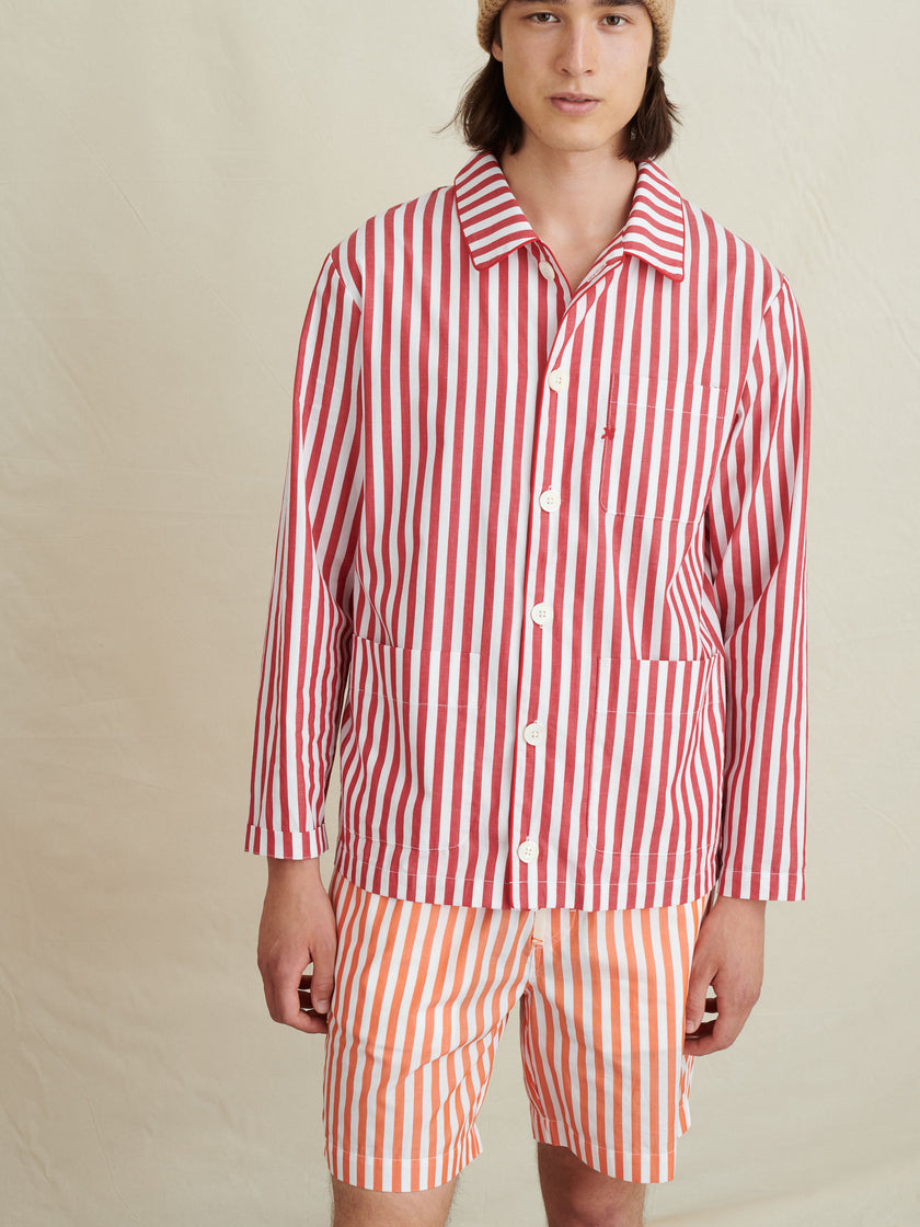 P'Jimmies Sleep Shirt in Dream Stripes