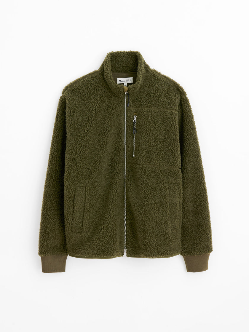 Zip Sherpa Jacket