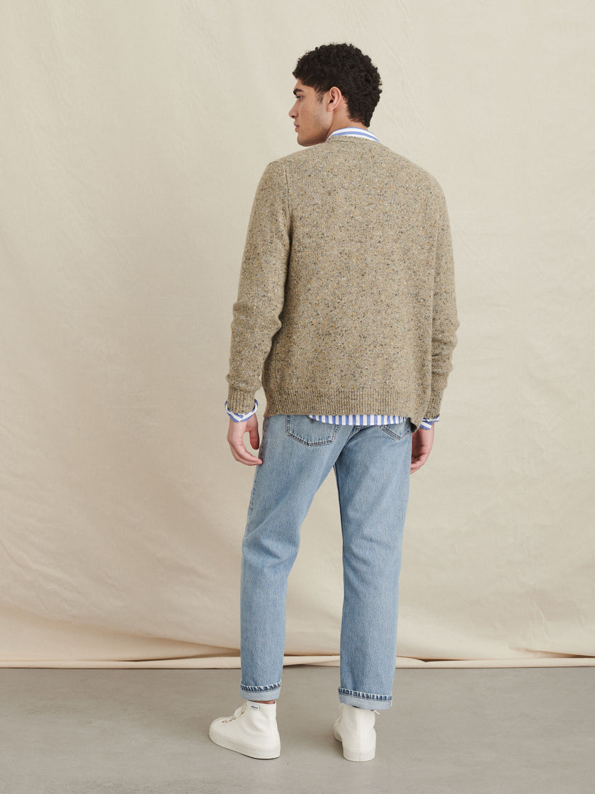Donegal Wool Cardigan