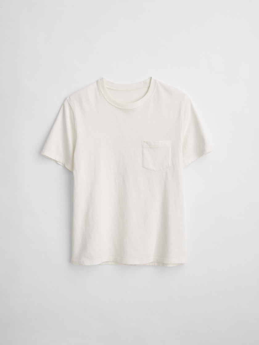 Vintage Wash Pocket Tee