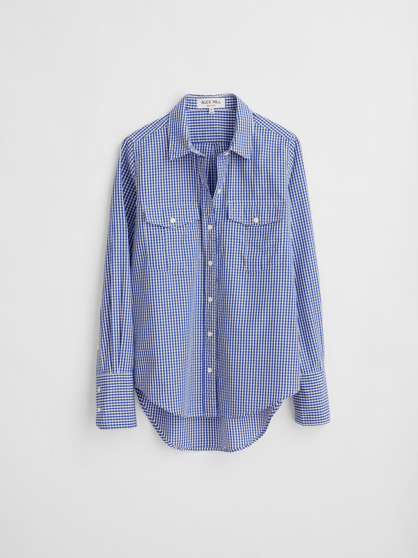 Georgie Pocket Shirt in Gingham