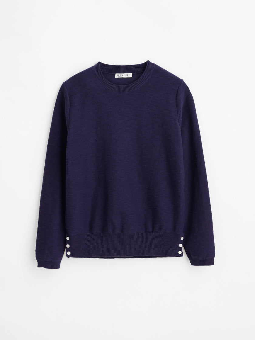 Isabelle Button Side Sweater