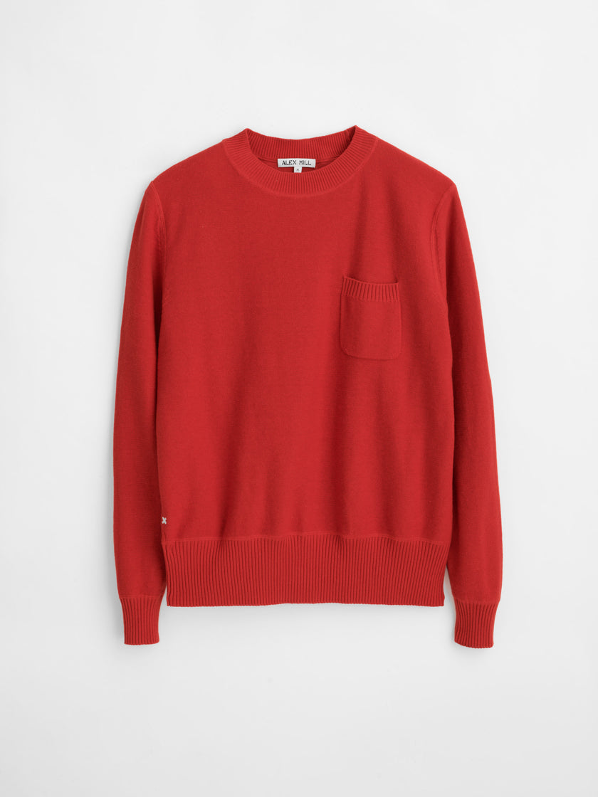 Mercer Cotton Pocket Sweater