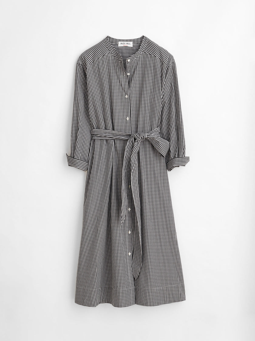 Gracie Shirt Dress in Gingham