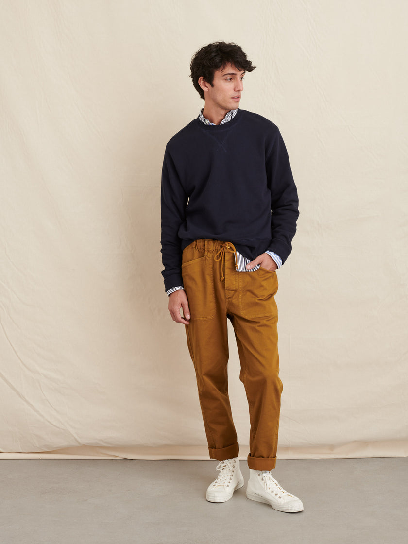 Pull-On Button Fly Pant