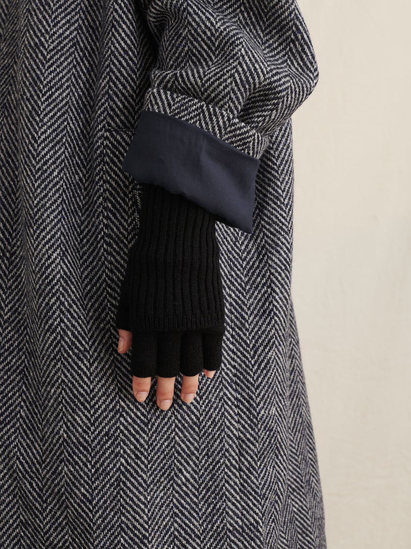 Foldable Fingerless Gloves
