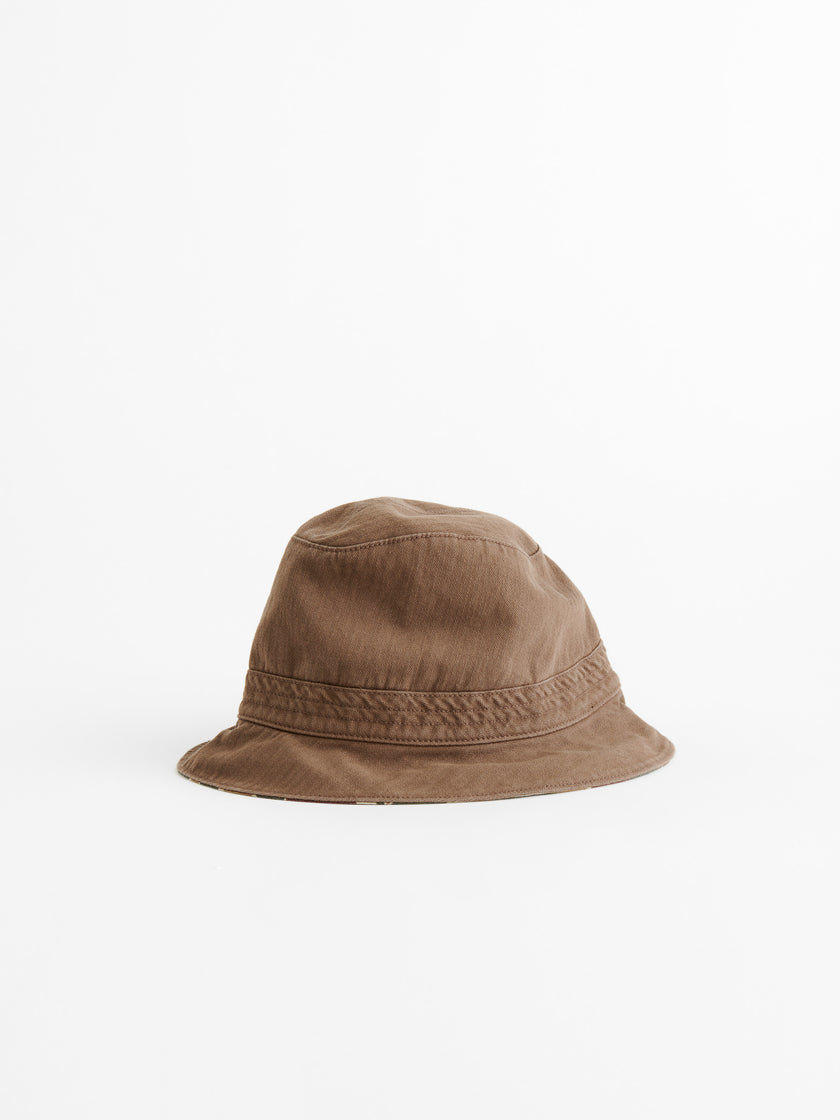Reversible Bucket Hat in Camo