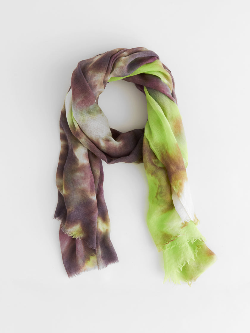 The Hand Dyed Project: Oversized Wool Gauze Scarf