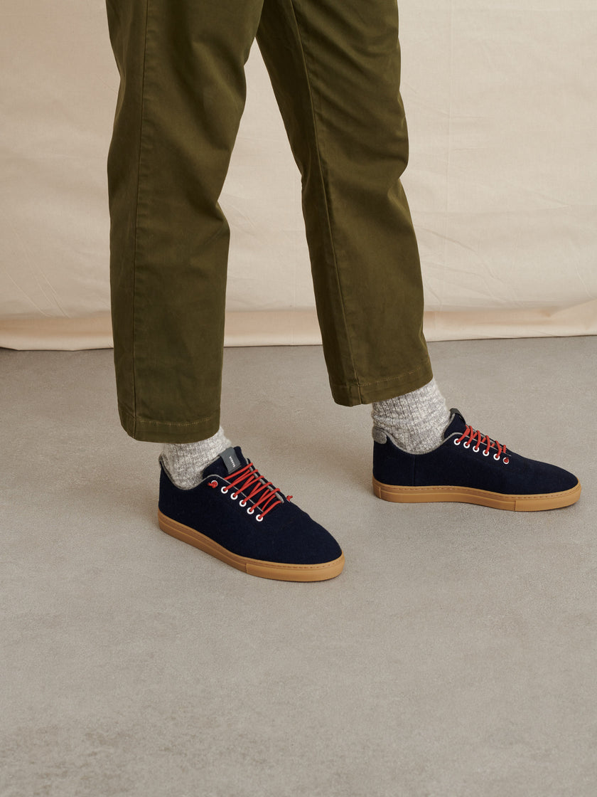 Baabuk for Alex Mill Wool Sneakers