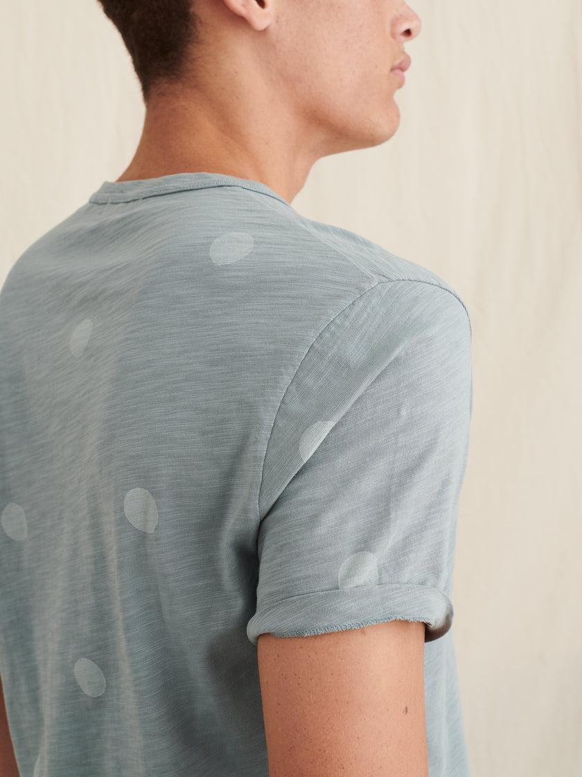Alex Mill Limited Run: Block Printed Dot Tee