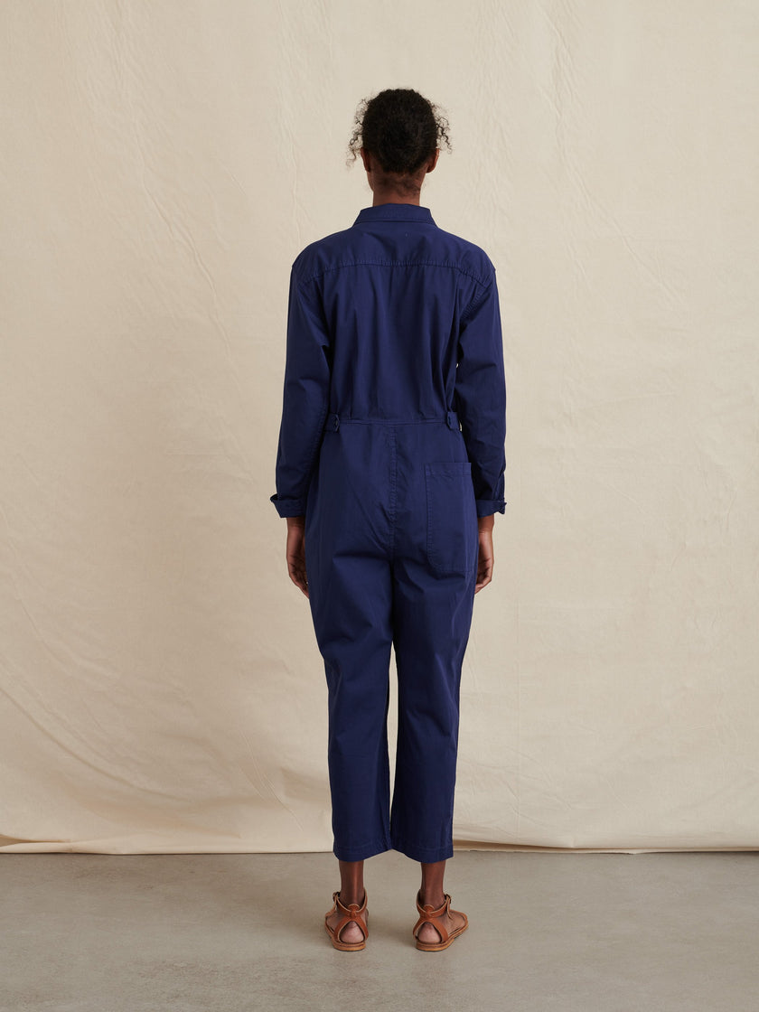 Standard Jumpsuit in Blockprint
