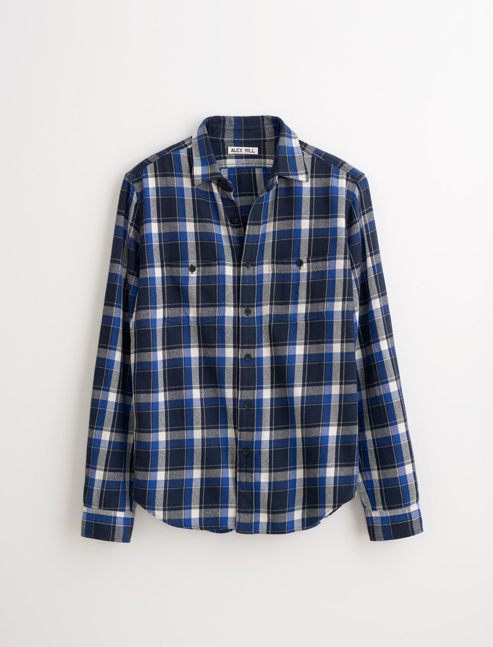 4e0c6aedb21 Navy Blue And White Plaid Shirt – EDGE Engineering and Consulting ...
