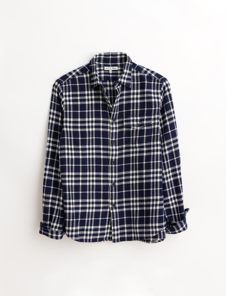 Patch Flap-Pocket Flannel Shirt