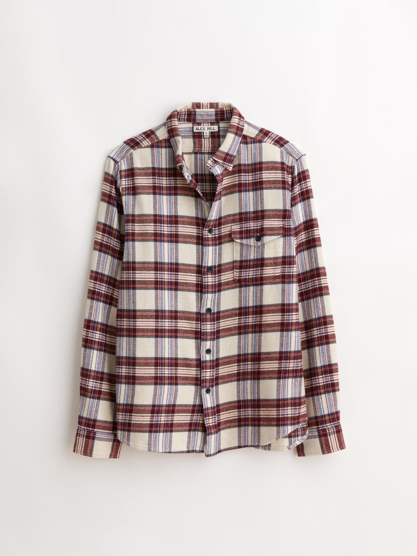 Flannel Flap Pocket Shirt
