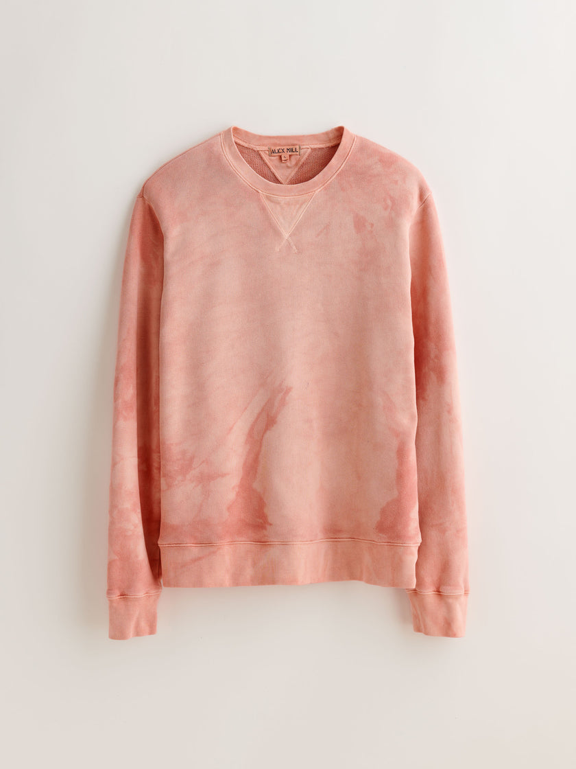 Alex Mill Editions: Natural Dye Sweatshirt in Botanical Pink