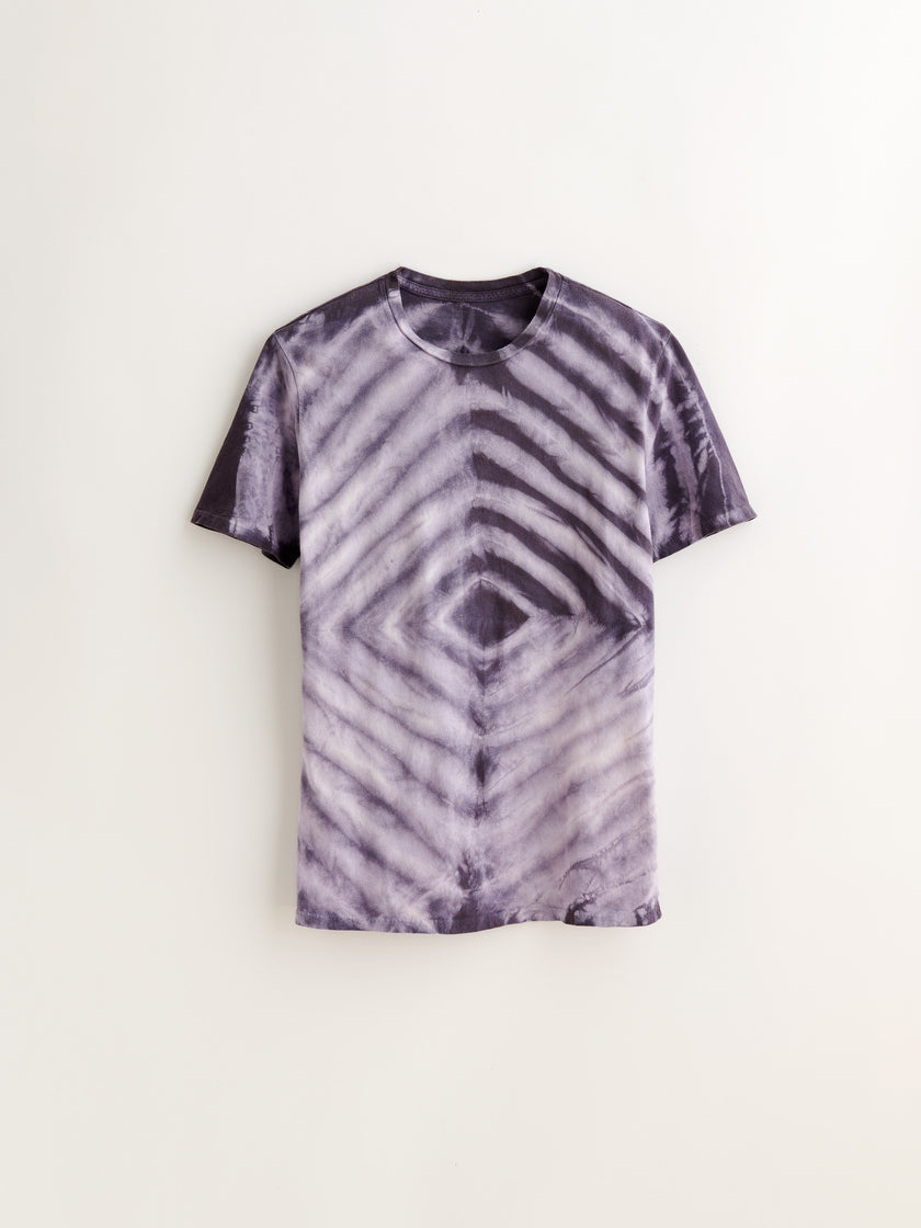 Alex Mill Editions: Natural Dye Tee in Botanical Midnight Shibori