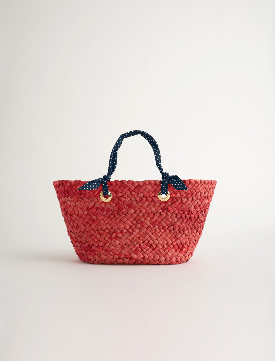 AM Mini Straw Tote Bag