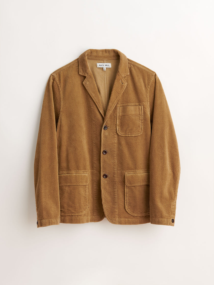 Mill Blazer in Rugged Cord