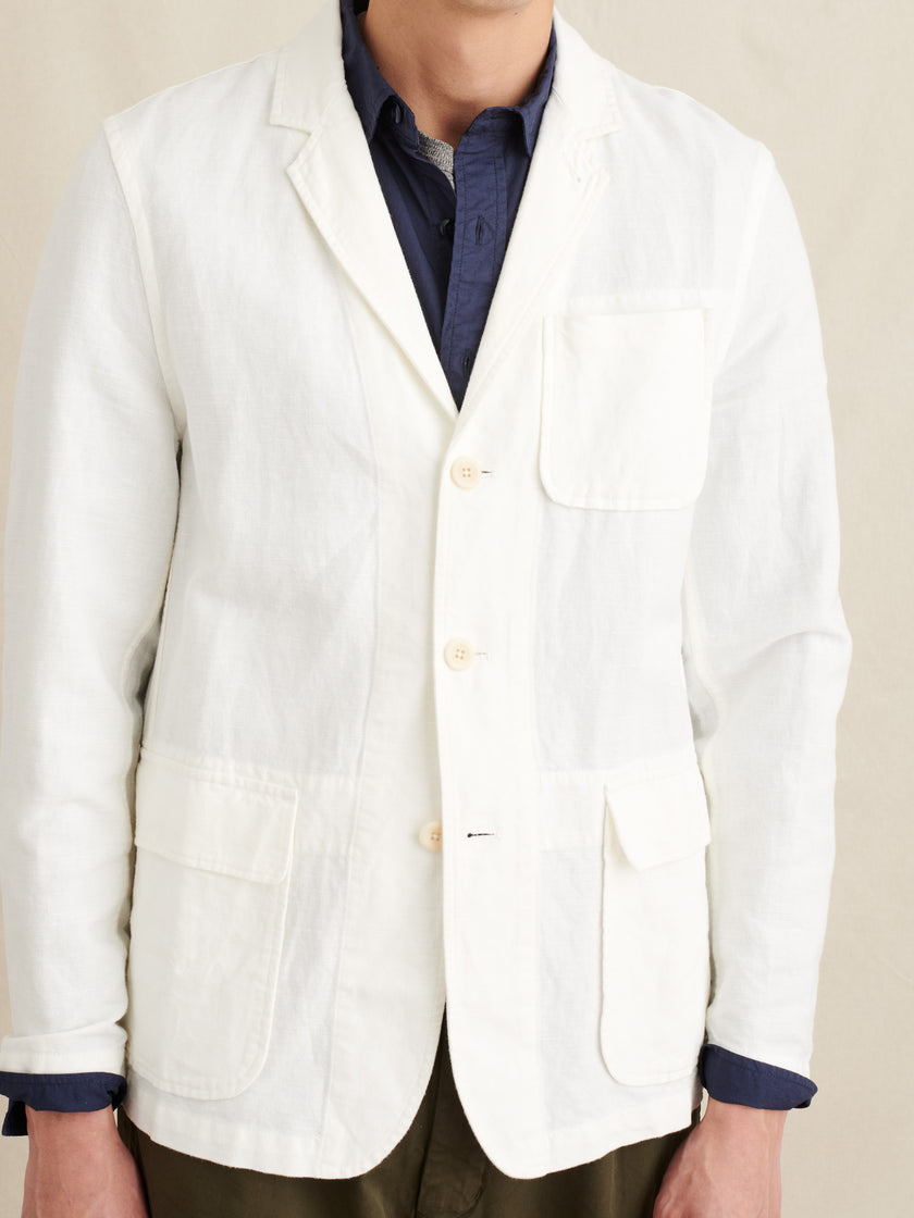 Mill Blazer in Cotton Linen