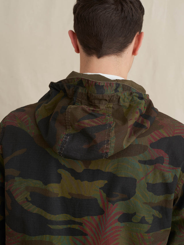 Tropical Camo Windbreaker
