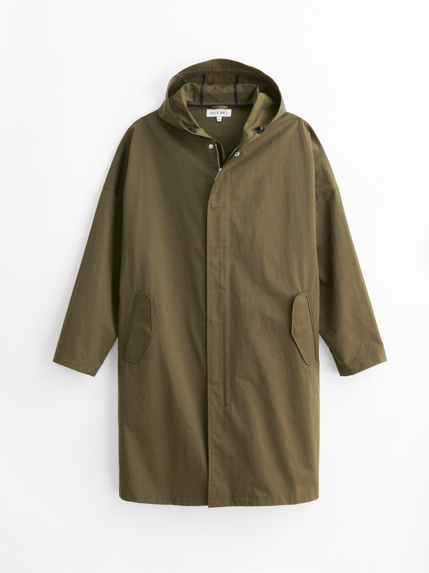 Officer's Hooded Trench