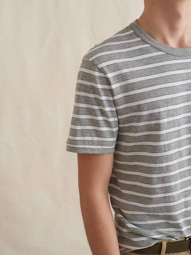 Tri-Color Striped T-Shirt