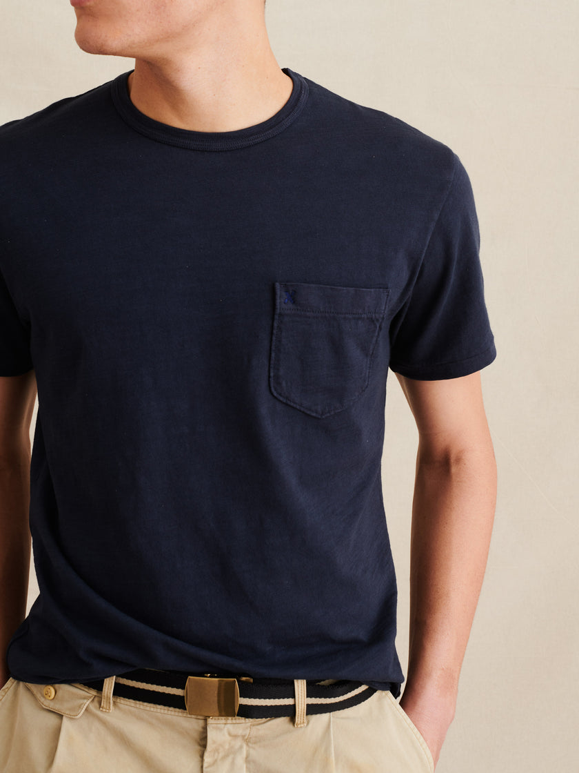 Standard Pocket Tee in Slub Cotton