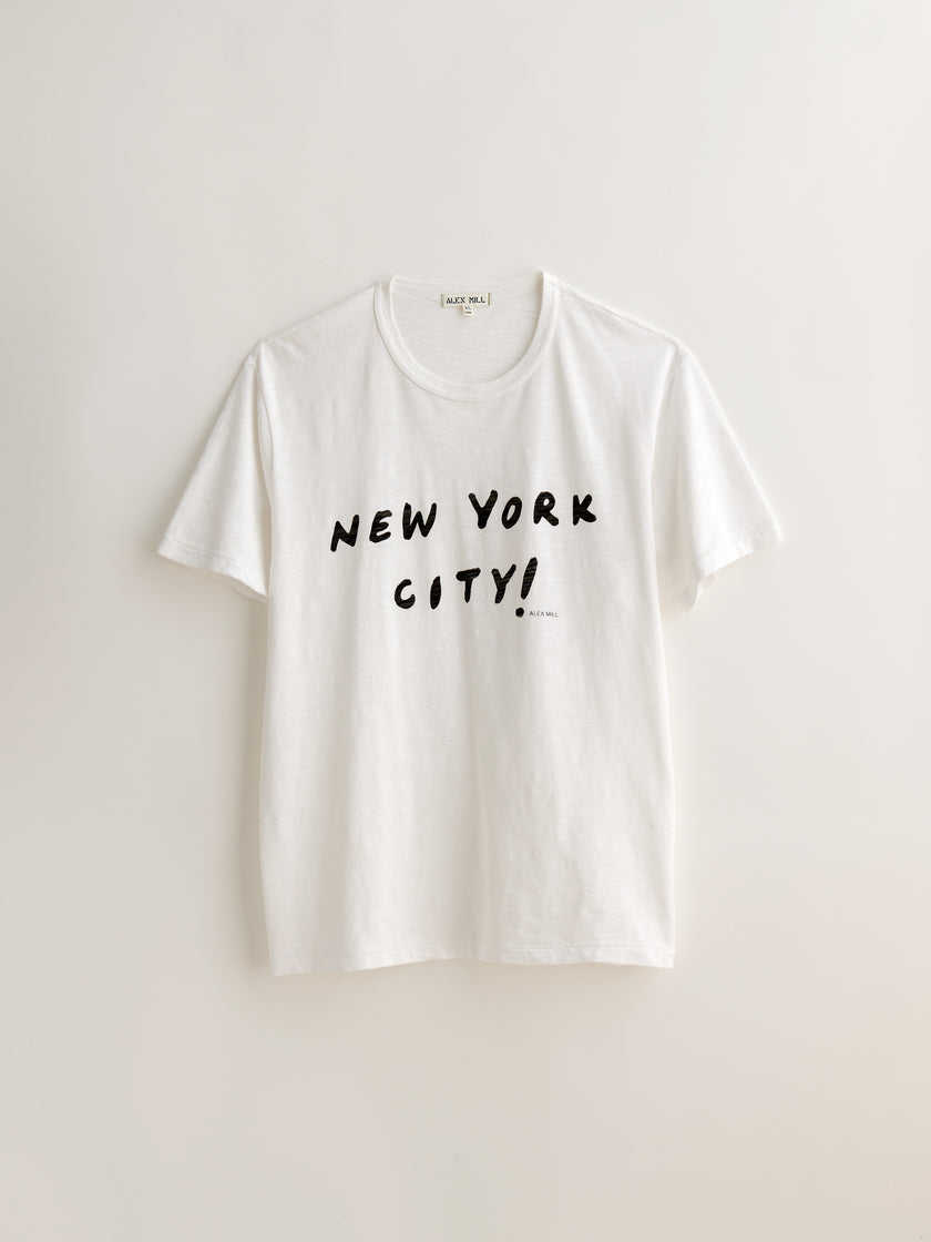 New York City Slub Tee