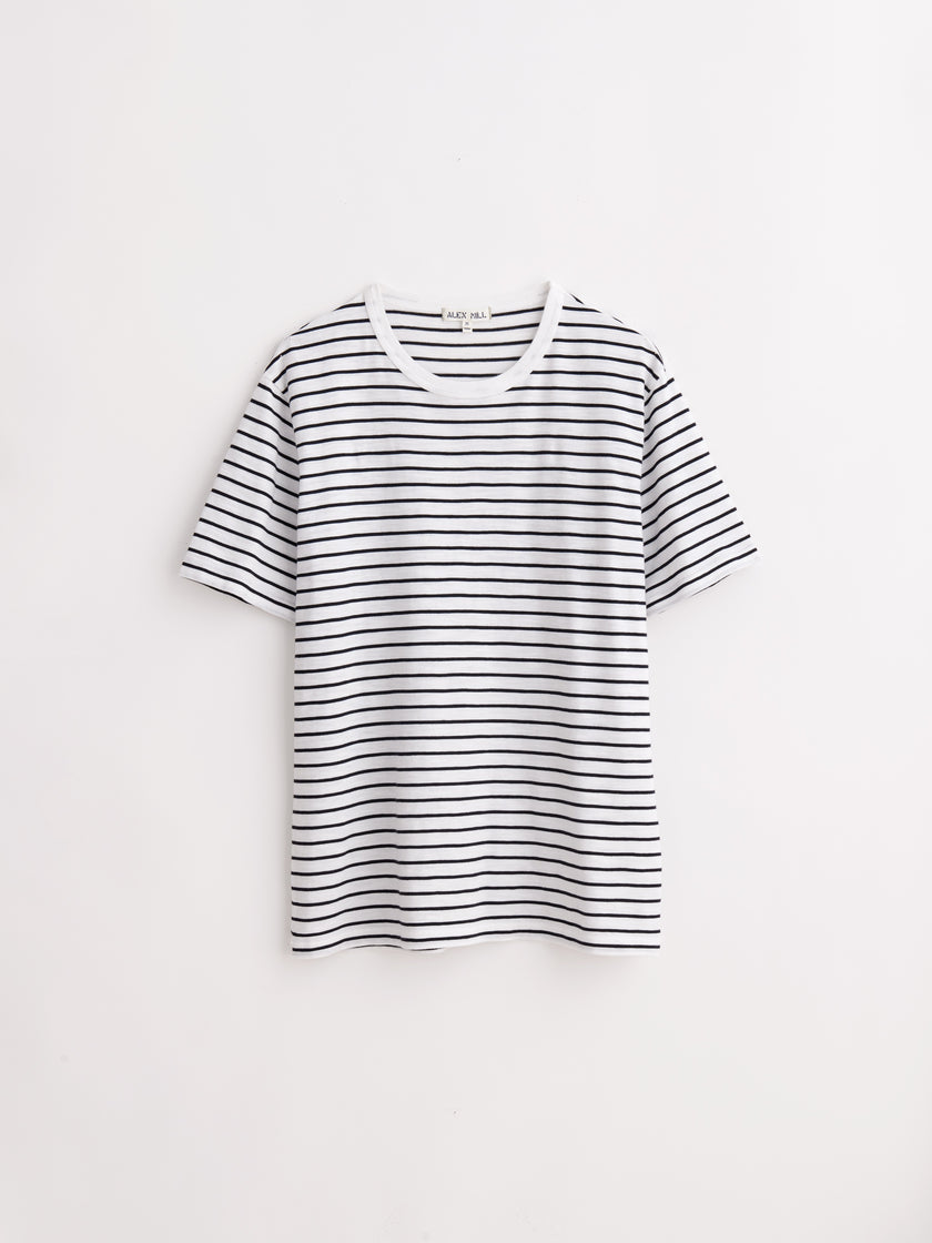 Striped Slub Tee