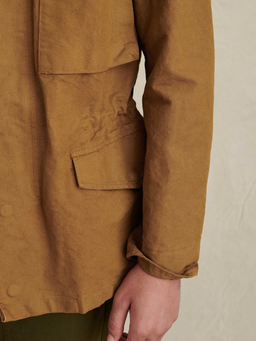 Field Jacket in Japanese Canvas